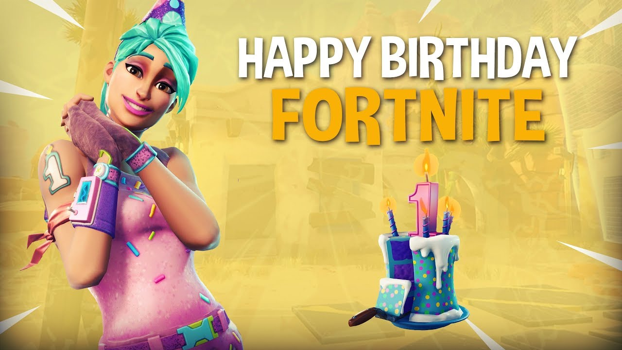 fortnite happy birthday Happy Birthday Fortnite! 20 Frag Solo Gameplay   Fortnite Battle  fortnite happy birthday