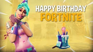 Happy Birthday Fortnite! 20 Frag Solo Gameplay - Fortnite Battle Royale Gameplay - Ninja