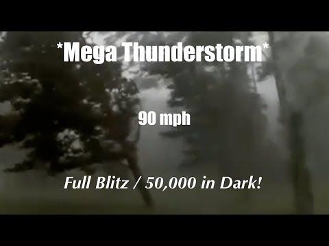 Perseid Update - MEGA Thunderstorm puts FULL BLITZ on Finland/50k blackout!