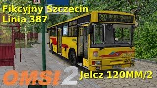 Jelcz 120MM/2 - Fikcyjny Szczecin Linia 387 OMSI 2