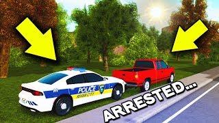 I Got Arrested ........ (Liberty County ROBLOX)