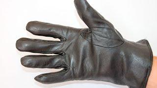 Мужские кожаные перчатки 50% натуральная овчина w019(Мужские зимние перчатки с толстым, теплым мехом. Оптовая продажа перчаток на сайте www.shust.com.ua., 2016-08-25T11:25:10.000Z)