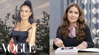 Salma Hayek Breaks Down 13 Looks From 1996 to Now | Life in Looks | Vogue