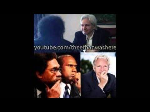 ian Assange speaks with Tavis Smiley vesves Cornel West