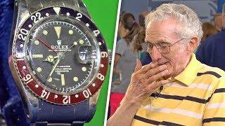 1960 kaufte er eine Uhr und 56 Jahre später konnte er nicht glauben, was er hörte!