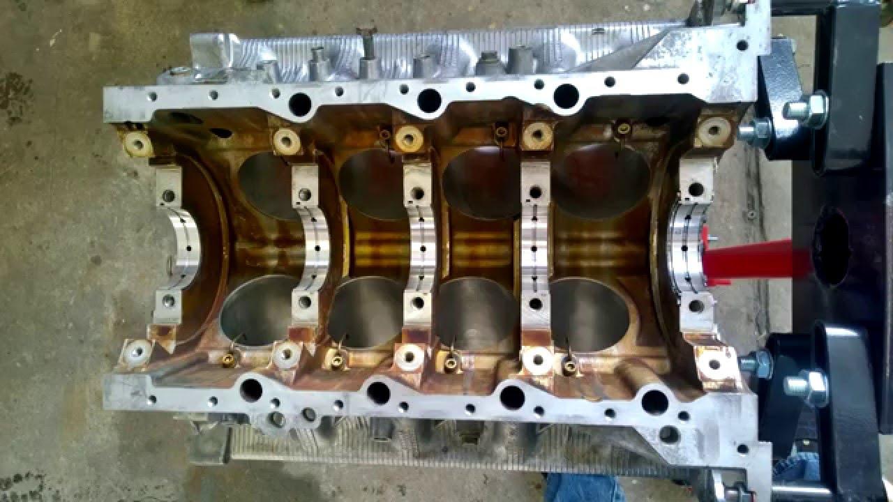 Bmw V8 N62 Engine Rebuild Motor Neuaufbau