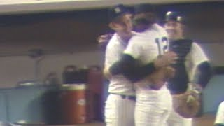1978 WS Gm5: Beattie gets final out, seals Yanks