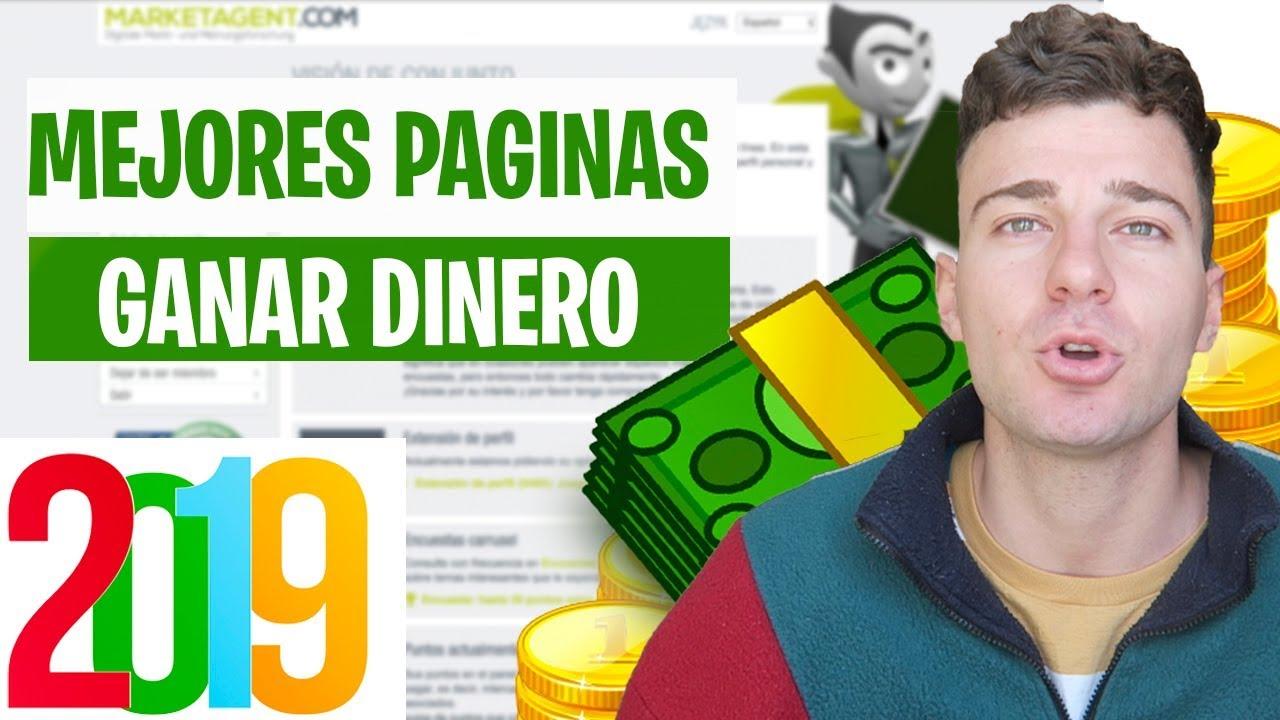 Mejores Páginas Para Ganar Dinero Por Internet 2019 Sin Invertir Demostrado Youtube
