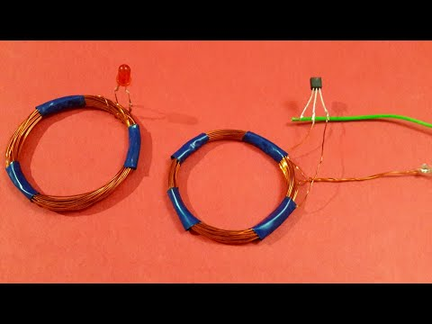Wireless Electricity Simple Experiment..(Easyway)