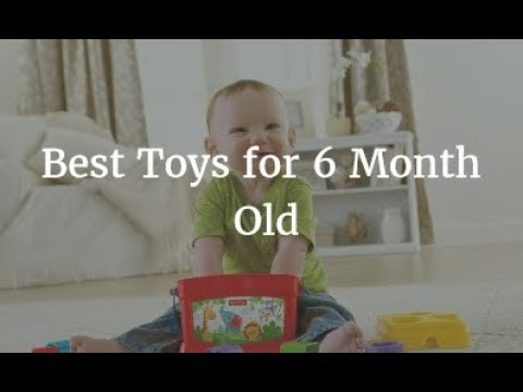 Best Toys for 6 Month Old 2018