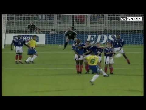 Roberto Carlos incredible Tournoi free kick   Video   Watch TV Show   Sky Sports