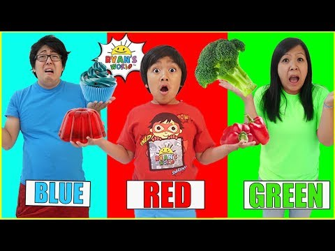 eating-only-one-color-food-for-24-hours!!!