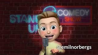 Emil Norbergs första gig på Big Ben Comedy Club 2018 (AUDIO)