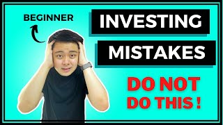 5 Beginner Investing Mistakes | Watch This BEFORE You Invest!