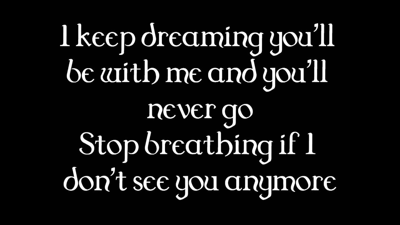 Far Away - Nickleback (Lyrics)