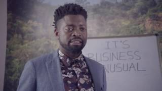 Anne Kansiime  Basketmouth on the job