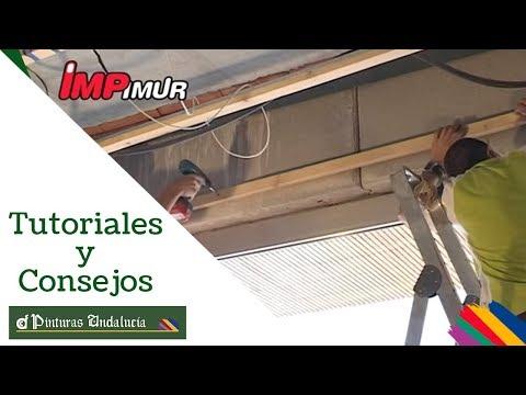 Decora tus techos con paneles decorativos youtube - Techos decorativos de madera ...
