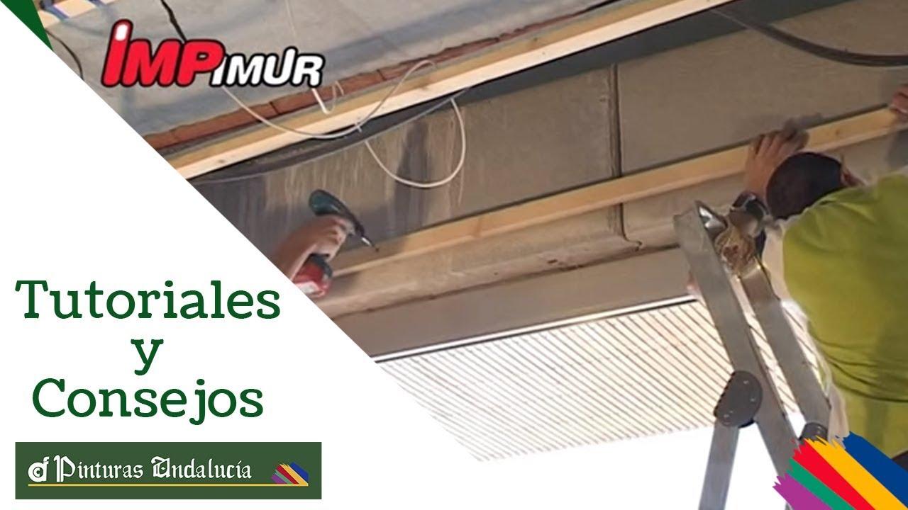 Pinturas andaluc a c mo instalar paneles decorativos en for Laminas para cubrir paredes