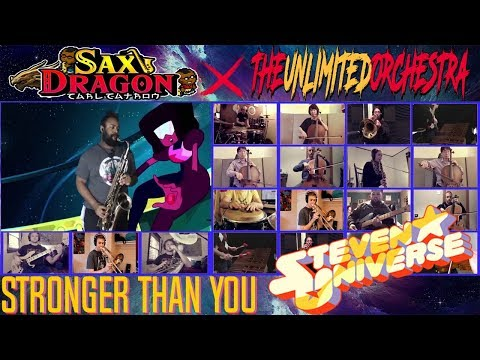 Stronger Than You - Steven Universe | Sax Dragon & The Unlimited Orchestra