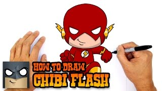 How to Draw Flash (Chibi)- Kids Art Lesson