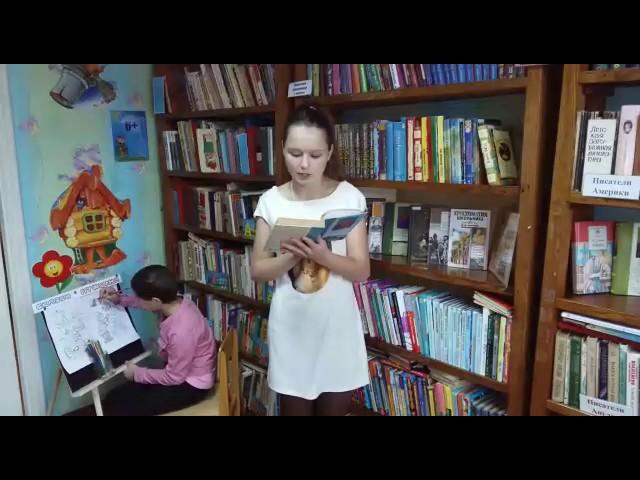Изображение предпросмотра прочтения – КсенияБагманова читает произведение «Зимний вечер» А.С.Пушкина