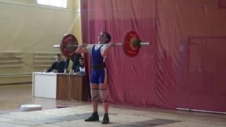 Маклаков Тимур,13 лет, вк 56 кг  Толчок 87 кг Есть личный рекорд!