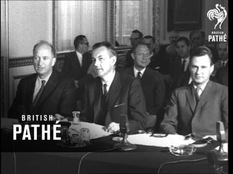 E.F.T.A. Conference. (1968)