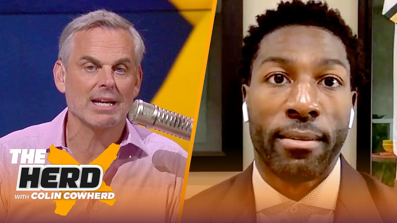 Greg Jennings reacts to Aaron Rodgers - Packers deal, Davante Adams extension odds   NFL   THE HERD