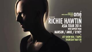 Richie Hawtin Asia Tour 2014 / TAIPEI - One With Richie Hawtin