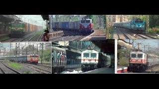 A Must See ! Compilation of All 12 Electric Locomotives serving Indian Railways Network