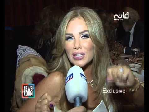 Nicole Saba نيكول سابا: متحمسة للعمل مع تامر حسني
