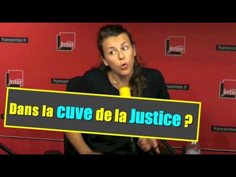 Dans la grande cuve de la Justice ?  (face à Mme Taubira)