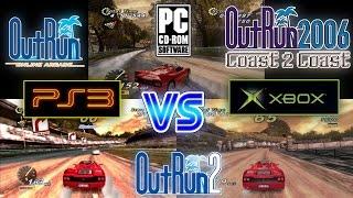 Outrun Coast 2 Coast (Xbox & PC) Vs Outrun Online Arcade (PS3)