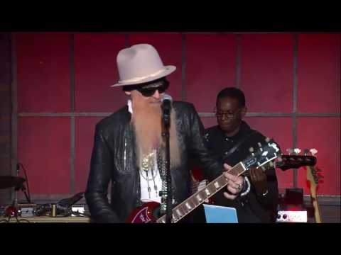 """Billy F Gibbons and Mike Henderson Waiting On The Bus / Jesus Just Left Chicago"""" - Feb 2017"""
