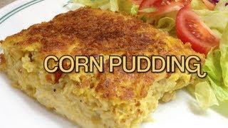 Corn Pudding Vegetarian Gluten Free Thermochef Recipe Cheekyricho