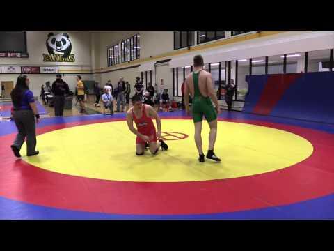 2015 Golden Bear Invitational: 82 kg Steven Sheppard vs. Noah Bertholet