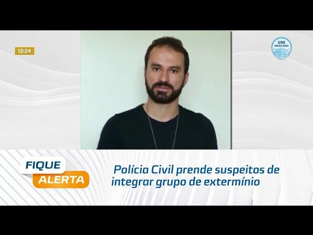 Polícia Civil prende suspeitos de integrar grupo de extermínio no município de Viçosa