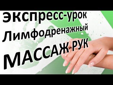 Лимфодренажный массаж рук. Экспресс-урок массажа от INMASSAGE
