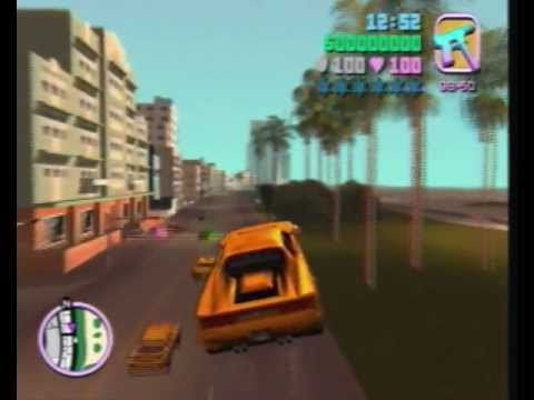 Gta Vice City Cheat Codes Ps Flying Cars