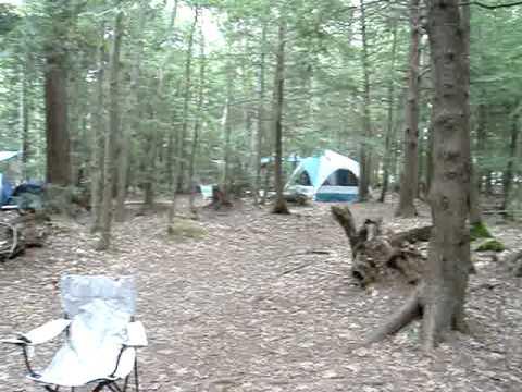 Camp Site In Ferry Beach