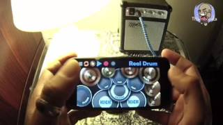 SOMEWHERE I BELONG by Linkin Park - Thumbolista Real Drum App Cover