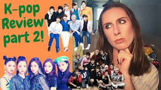REACTING TO KPOP PART 2 [SUPER JUNIOR, ITZY, EXO]
