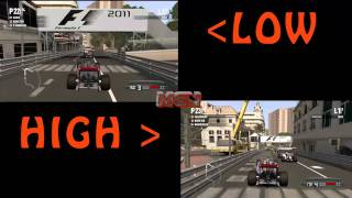 F1 2011 PC Gameplay HD - Max vs. Low Settings Comparison