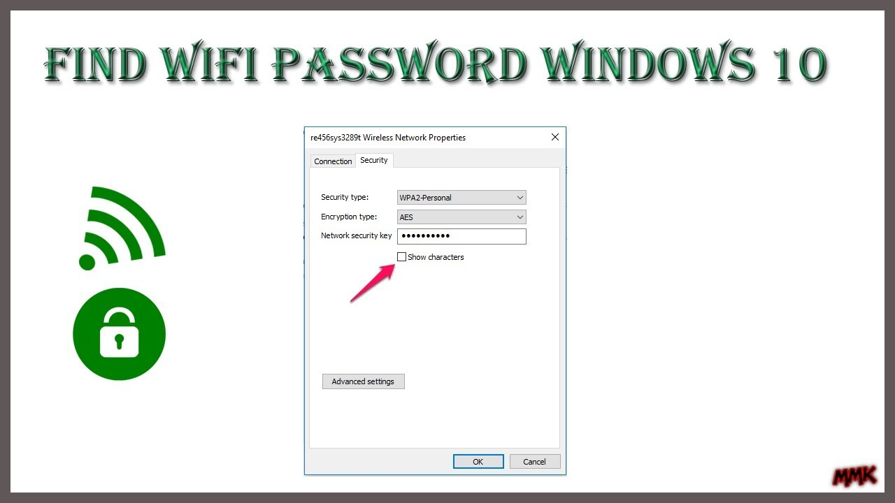 How To Find Your Wifi Password Windows 10 Show Wifi Password Youtube