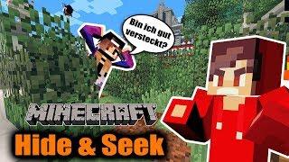 Minecraft: Nina + Kaan verstecken sich zu offensichtlich in HIDE AND SEEK! Jedes Mal gefunden!