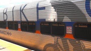 Amtrak & MARC Trains In Halethorpe Station, Maryland