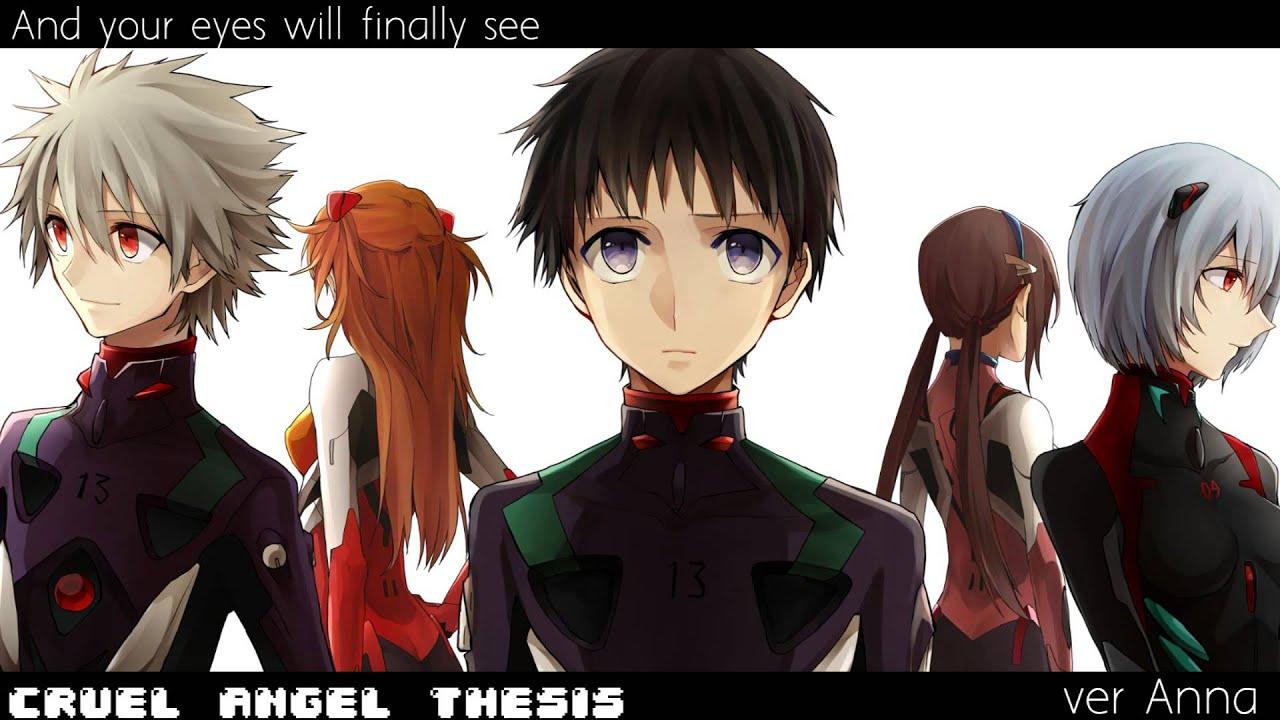 cruel angel thesis english Cruel angel's thesis - english lyrics cruel angels' thesis (neon genesis evangelion) vocals & lyrics: amalee  like an angel with cruel and merciless intent.