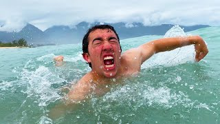 Swimming Across The Entire Pacific Ocean - Challenge