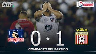 Colo Colo 0 - 1 Curicó Unido | Campeonato AFP PlanVital 2019 Segunda Fase | Fecha 2 | CDF