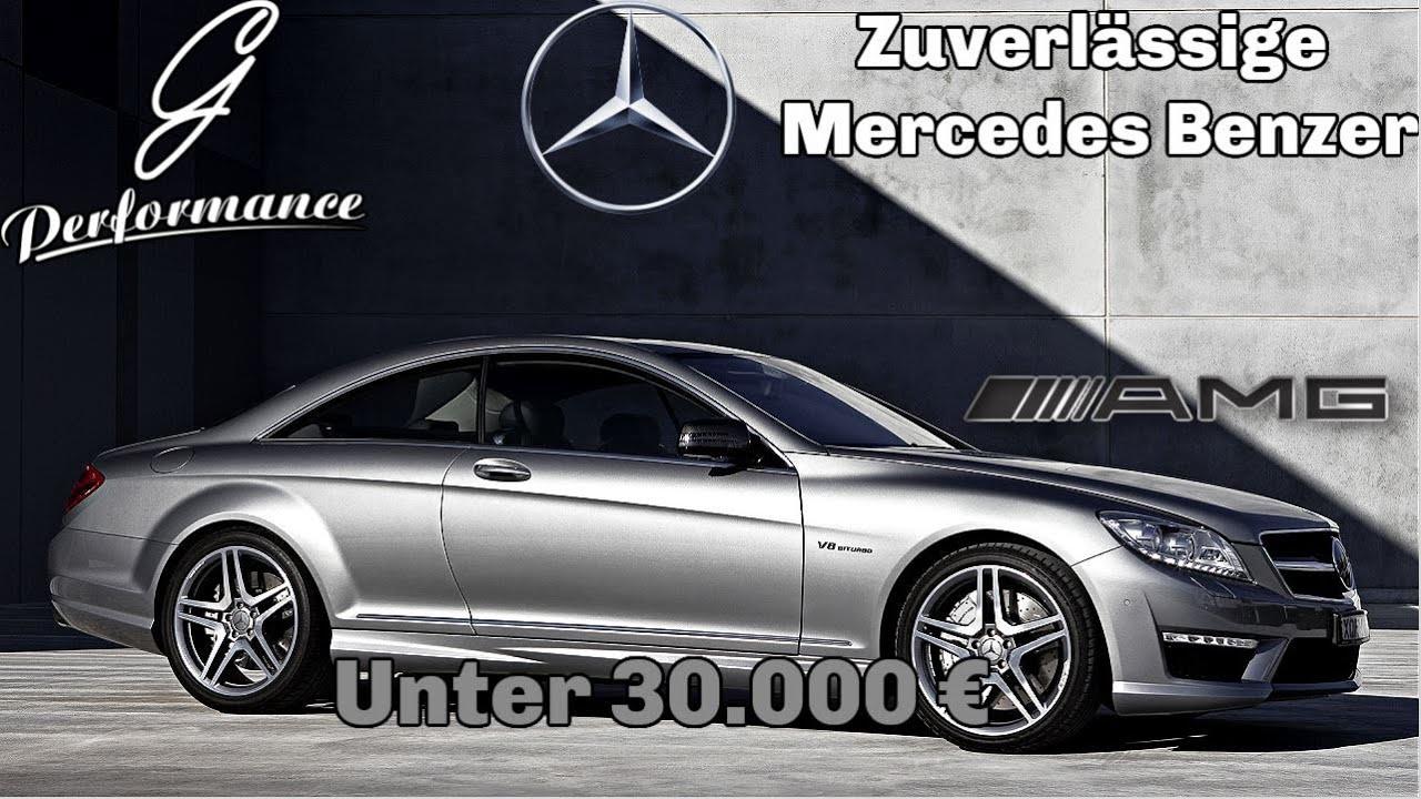 Top 7 Feuchtmacher-Mercedes-Autos für unter 30.000 € | G Performance